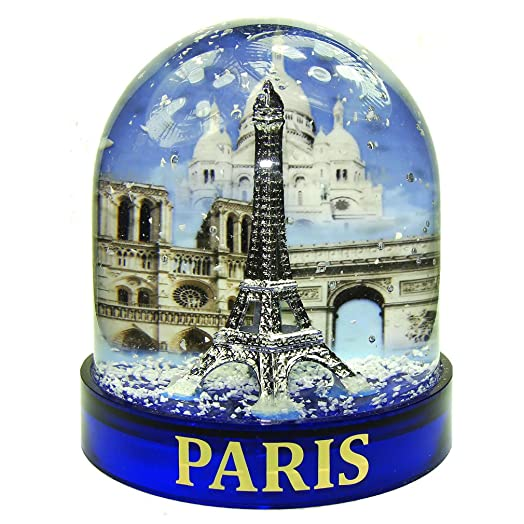 Souvenirs of france luxury paris snow globe in a gift case souvenirs of france luxury paris snow globe in a gift case color blue publicscrutiny Images