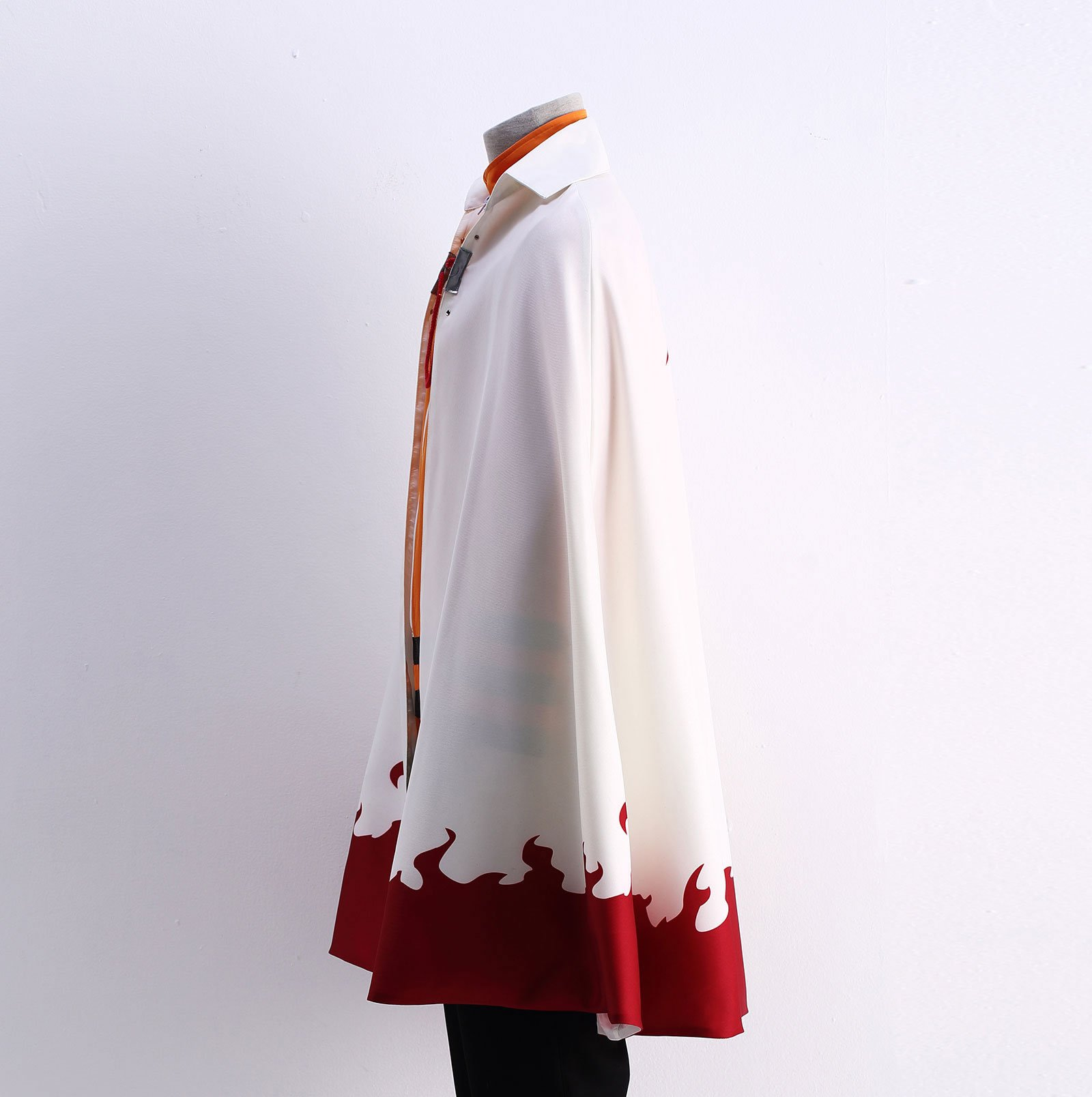 OURCOSPLAY US Size Men's Uzumaki Cloak 7th Hokage Cloak Boruto Cosplay Costume (Men US XL) by OURCOSPLAY (Image #2)