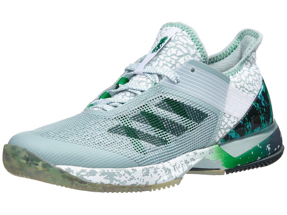 Adidas Adizero Ubersonic 3W Jade Womens Tennis Shoe (7.5)