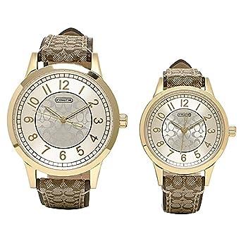 7c909906b1f8 Amazon | [コーチ] 腕時計 COACH 14000043 カーキ シルバー [並行輸入品 ...