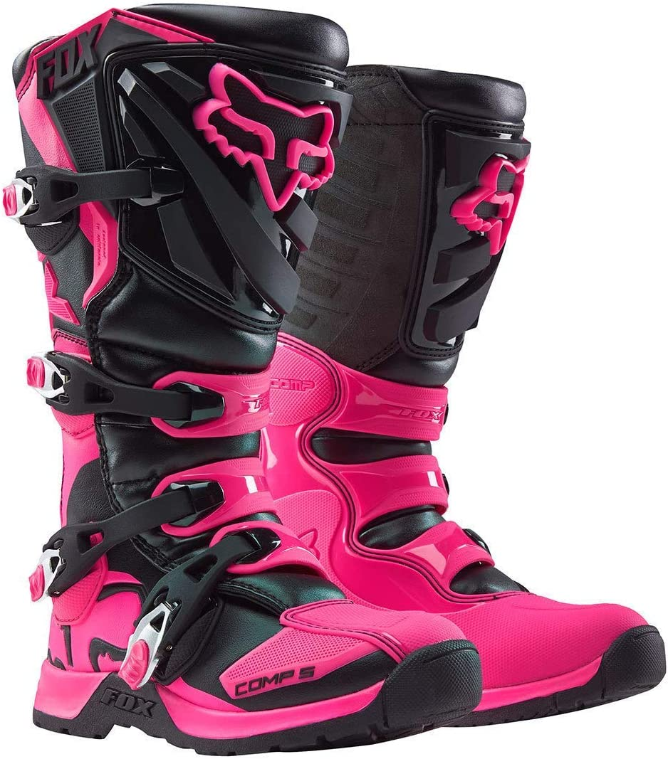 36 Fox Girls Motocross-Stiefel Comp 5 Pink Gr