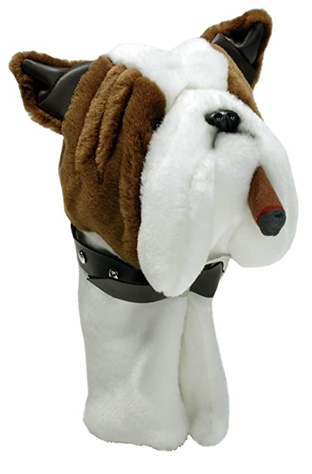b9e5183df9a Amazon.com   ProActive Sports Zoo Golf 460 cc Headcover - Bulldog w ...