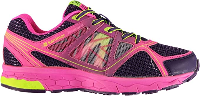 KARRIMOR D30 CUSHION RIDE TRAINERS JUNIOR WALKING RUNNING GYM SHOES SPORTS NEW