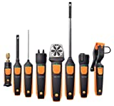 """Testo 0560 1905 905I Thermometer Smart and Wireless Probe, 1"""" Height, 1"""" Width, 9"""" Length"""