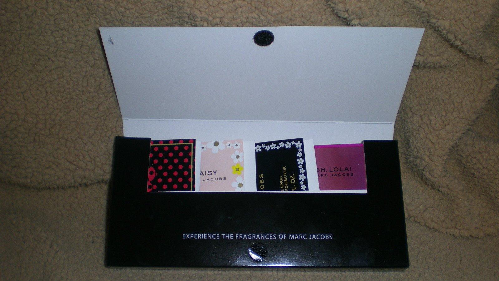 Marc Jacobs 4 Fragrances Sampler, Dot, Daisy, Oh, Lola!, Daisy Eau So Fresh, NEW