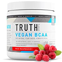 Truth Nutrition Vegan BCAA Powder- :1:1 Ratio All Natural Branched Chain Amino Acids...