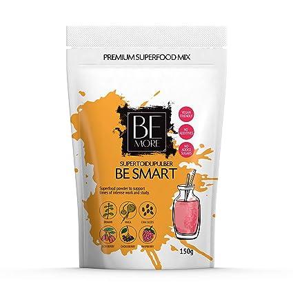 Polvo de súperalimentos Be Smart - la mezcla de súperalimentos es Natural, Vegana y Sin