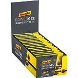PowerBar PowerGel Shots Cola 16x60g - Gomas de Alta Energía de Carbono + C2MAX Magnesio y Sodio + 75mg Cafeína