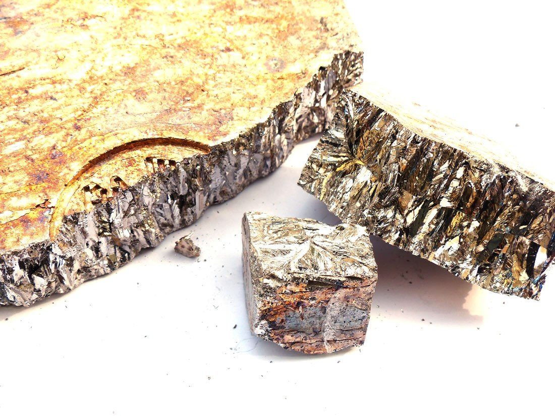 Bismuth Chunk (5 pounds | 99.99+% Pure) Raw Bismuth Metal | Great for Crystal Making