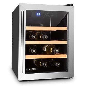 Klarstein Reserva Doce - Mini nevera para 9 Botellas, Nevera para ...