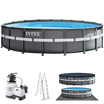 INTEX Piscina Desmontable Ultra XTR Frame Pool 549x132 cm ...