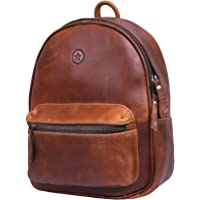 Aaron Leather Goods Casual Small Backpack