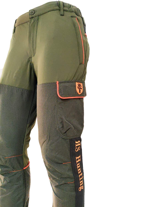 Fratelli ditalia Pantaloni Calzoni Caccia Elastico Kevlar Rinforzi Resistente Uomo