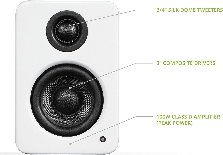 Kanto Yu2 Desktop Aktivlautsprecher Audio Hifi