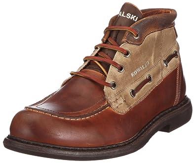 4e409235c75b92 Kowalski Kemp Boatshoe 4880VAPBLK, Chaussures basses homme - Marron/brun  foncé, 42 EU