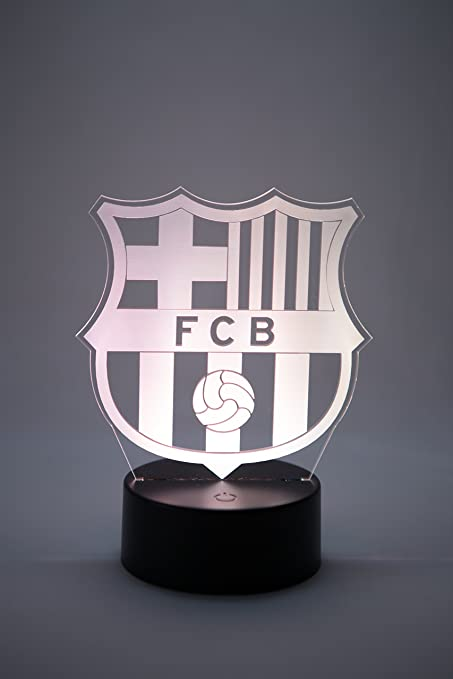 Oficial Escudo del FC Barcelona Lámpara original accesorios de 2017- 2018 y  mejor regalo de 1c7cd3129e2