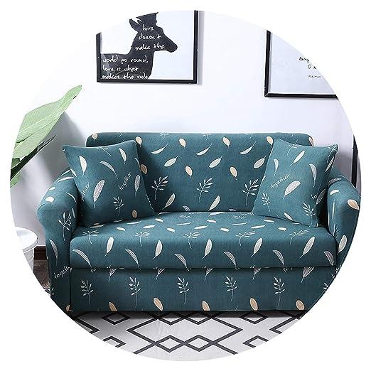 Small-shop-Sofa Cover Funda de sofá elástica con patrón de ...