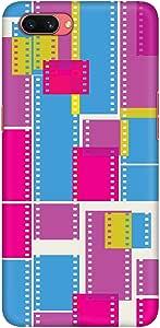 Stylizedd Oppo A3s Slim Snap Basic Case Cover Matte Finish - Film Strips