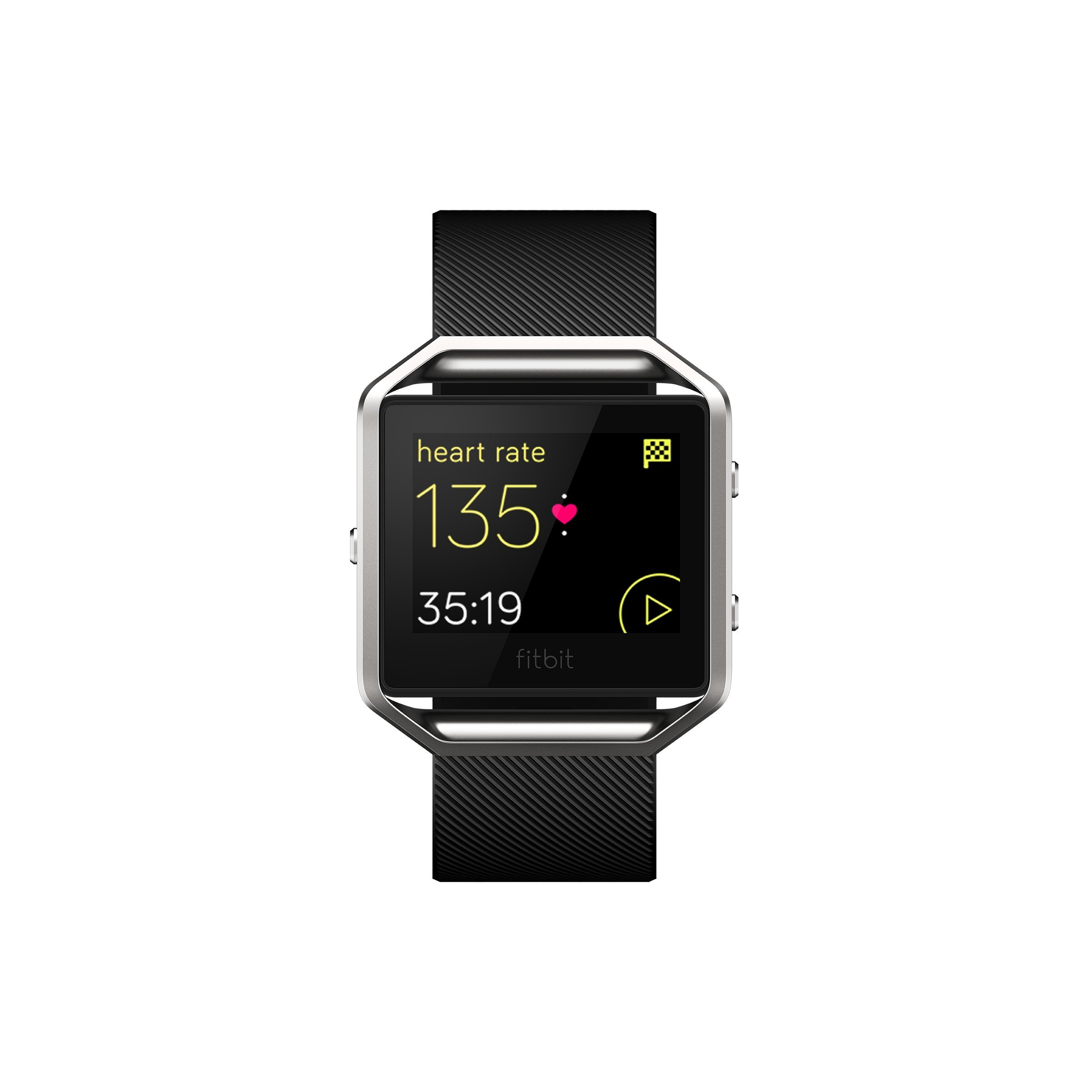 Fitbit Blaze Smart Fitness Watch, Black, Silver, Large (US Version) by Fitbit (Image #2)