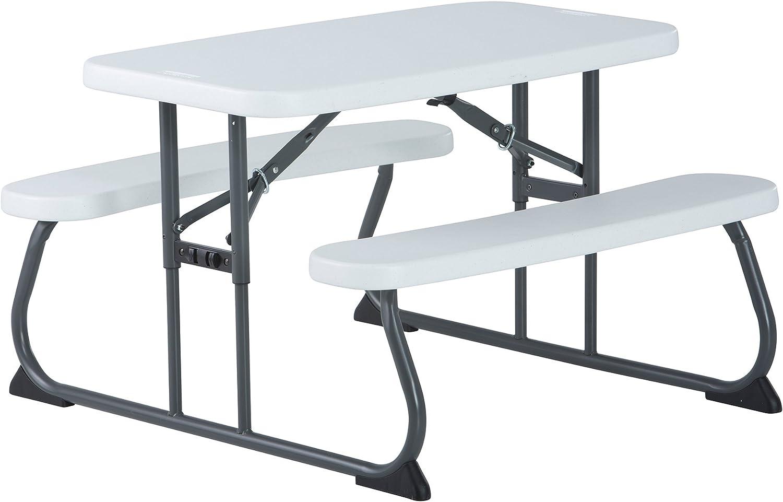 - Amazon.com: Lifetime Kid's Picnic Table, White: Garden & Outdoor