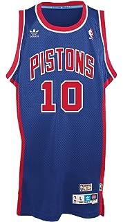 adidas Detroit Pistons #10 Dennis Rodman NBA Soul Swingman Jersey, Blue