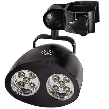 Barbacoa parrilla luz, 10 Super brillante LED luces, 3 diferentes modos de brillo,
