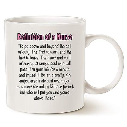 4f267d124f3 Amazon.com  Inspirational Quote Nurse Coffee Mug Christmas Gifts ...