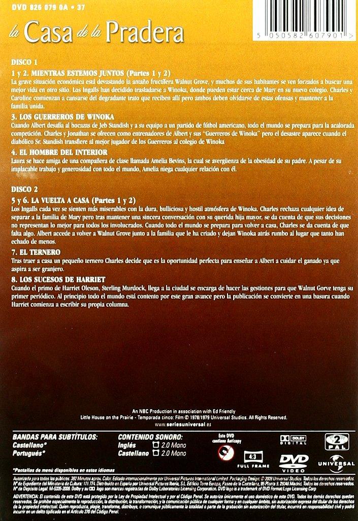 La casa de la pradera (5ª temporada) [DVD]: Amazon.es: Karen Grassle ...