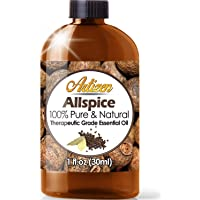 Artizen Allspice Essential Oil (100% PURE & NATURAL - UNDILUTED) Therapeutic Grade - Huge 1 Fl. Oz Bottle - Perfect for Aromatherapy, Relaxation, Skin Therapy & More!