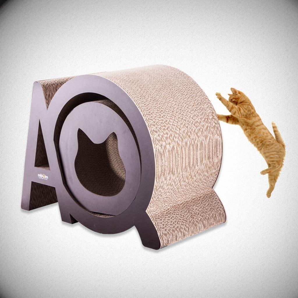 CXQ Moda Creativa Grande Gatto Rettifica Artiglio Bordo Gatto Scratch Bordo Lettiera Gatto Divano Arrampicata Telaio Giocattolo Gatto Forniture per Animali