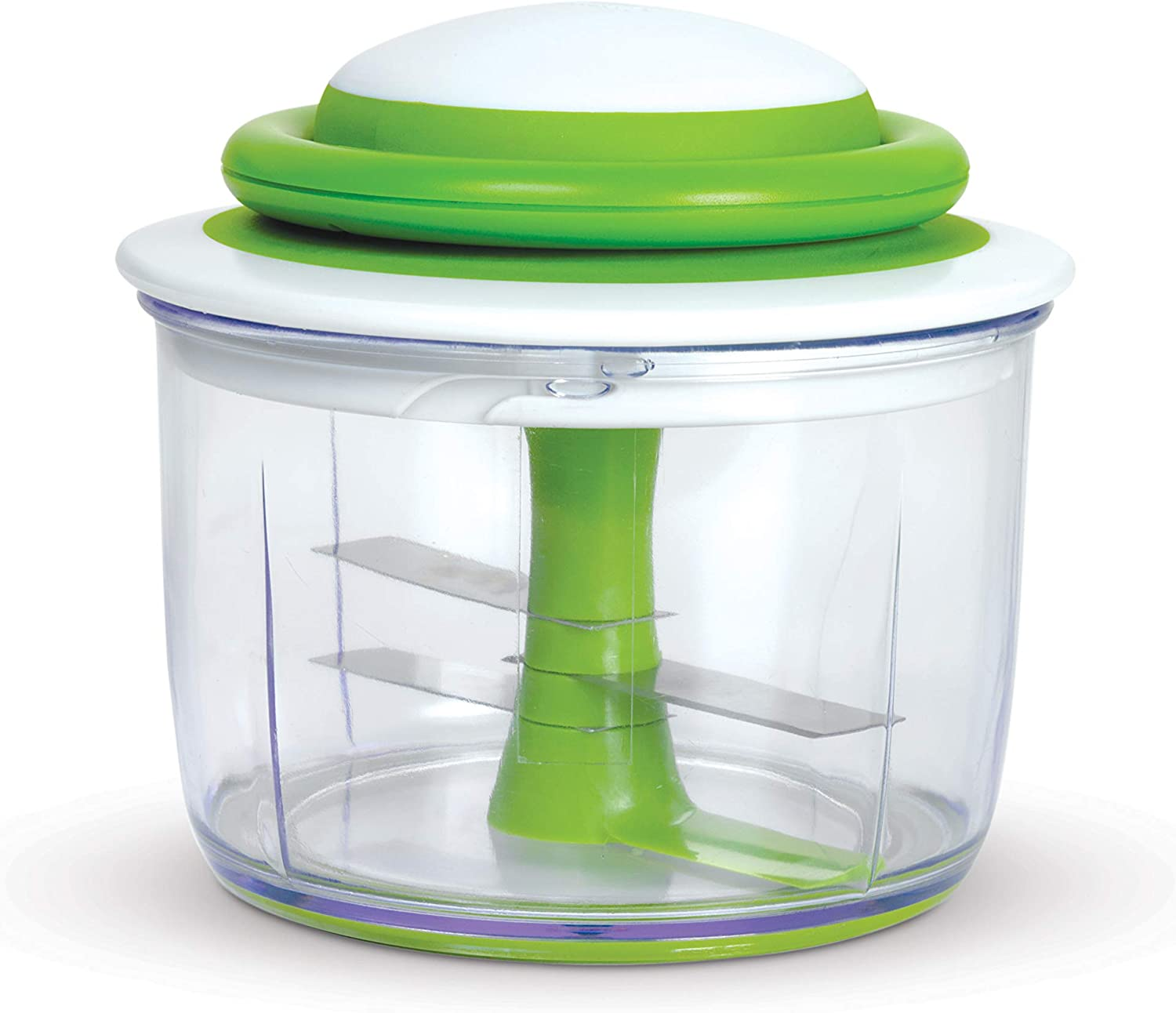Chef'n VeggiChop Hand-Powered Food Chopper (Arugula): Home & Kitchen