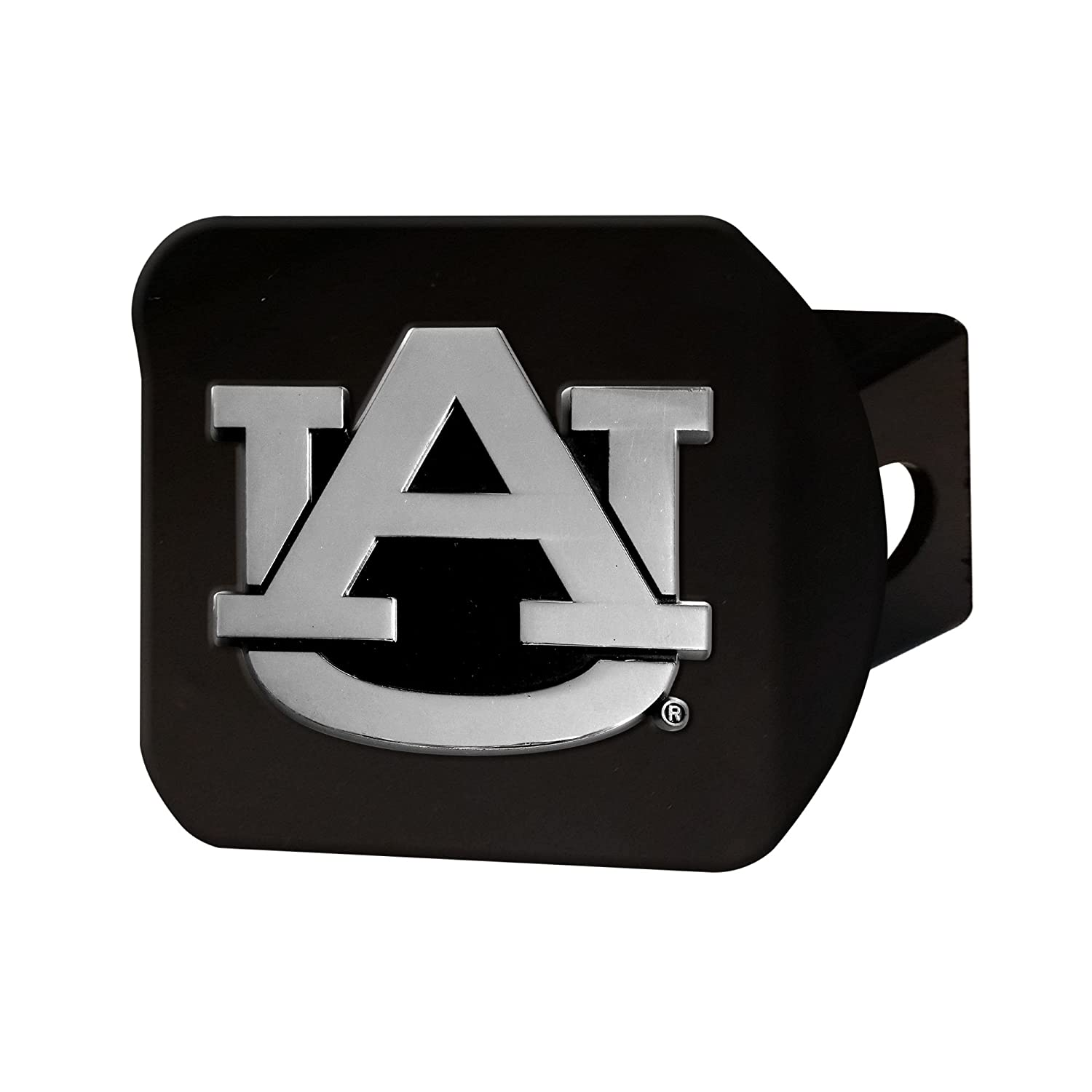 "FANMATS 21026 Auburn Black Hitch Cover, Team Color, 3.4""x4"" 3.4""x4"""