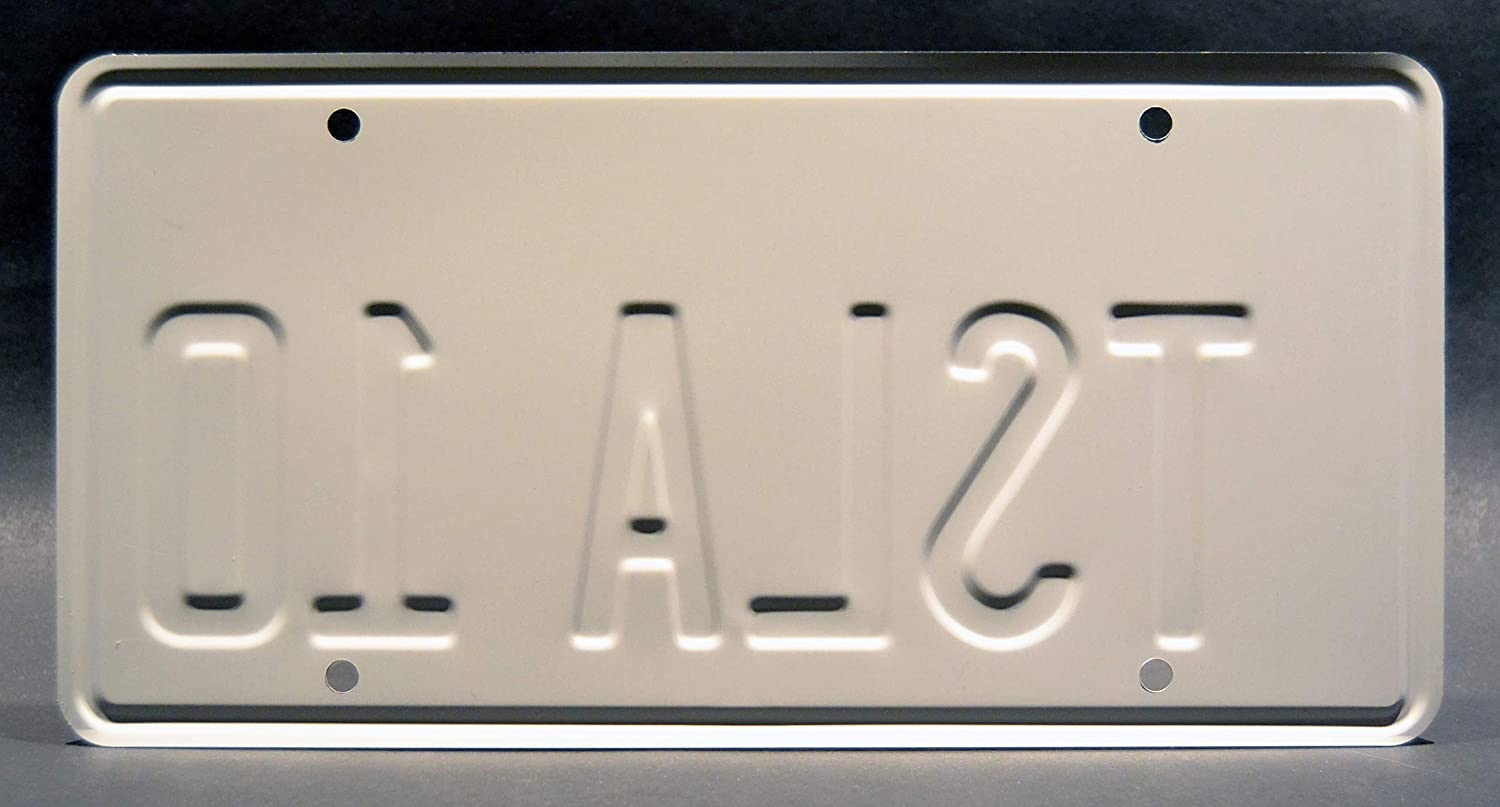 Elon Musk/'s Tesla Roadster TSLA 10 Celebrity Machines SpaceX Falcon Heavy Launch Metal Stamped Vanity Prop License Plate