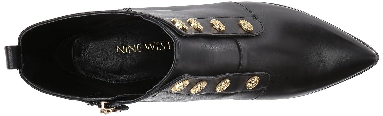 Nine Boot West Women's Ellsworth Ankle Boot Nine B06WP566DZ 6 B(M) US|Black Leather fd6bb0
