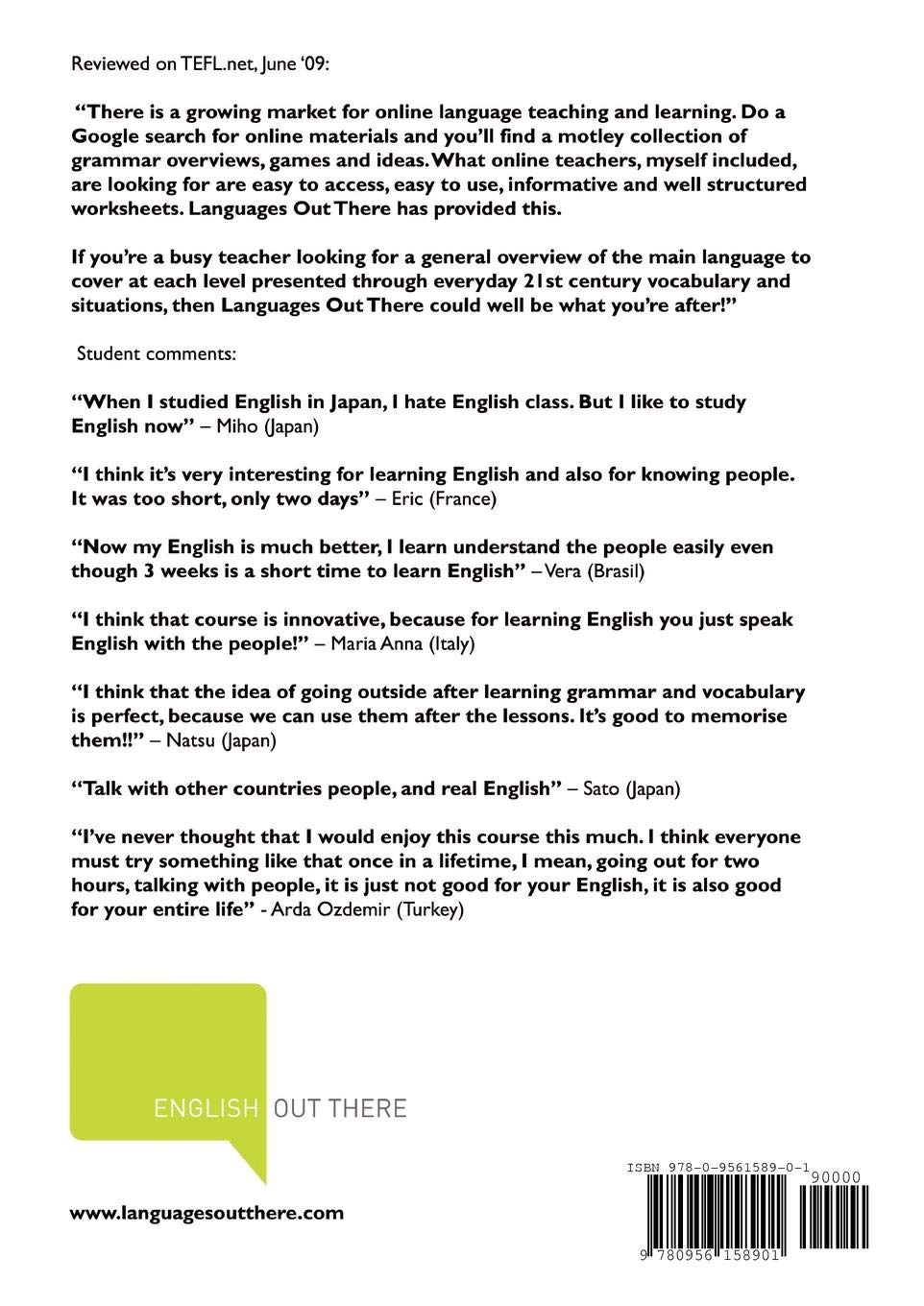 Buy English Out There - Intermediate TD4 - A Modern English