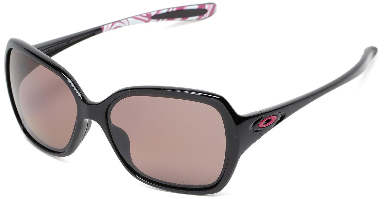 0ec3b36062 Oakley OVERTIME Womens Polarised Sunglasses - Breast Cancer - Polished  Black  OO Grey Polarised - Polished Black - Pola  Amazon.co.uk  Sports    Outdoors