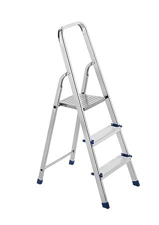 Framar - Escalera de aluminio de 3 peldaños Piuma 3: Amazon.es ...