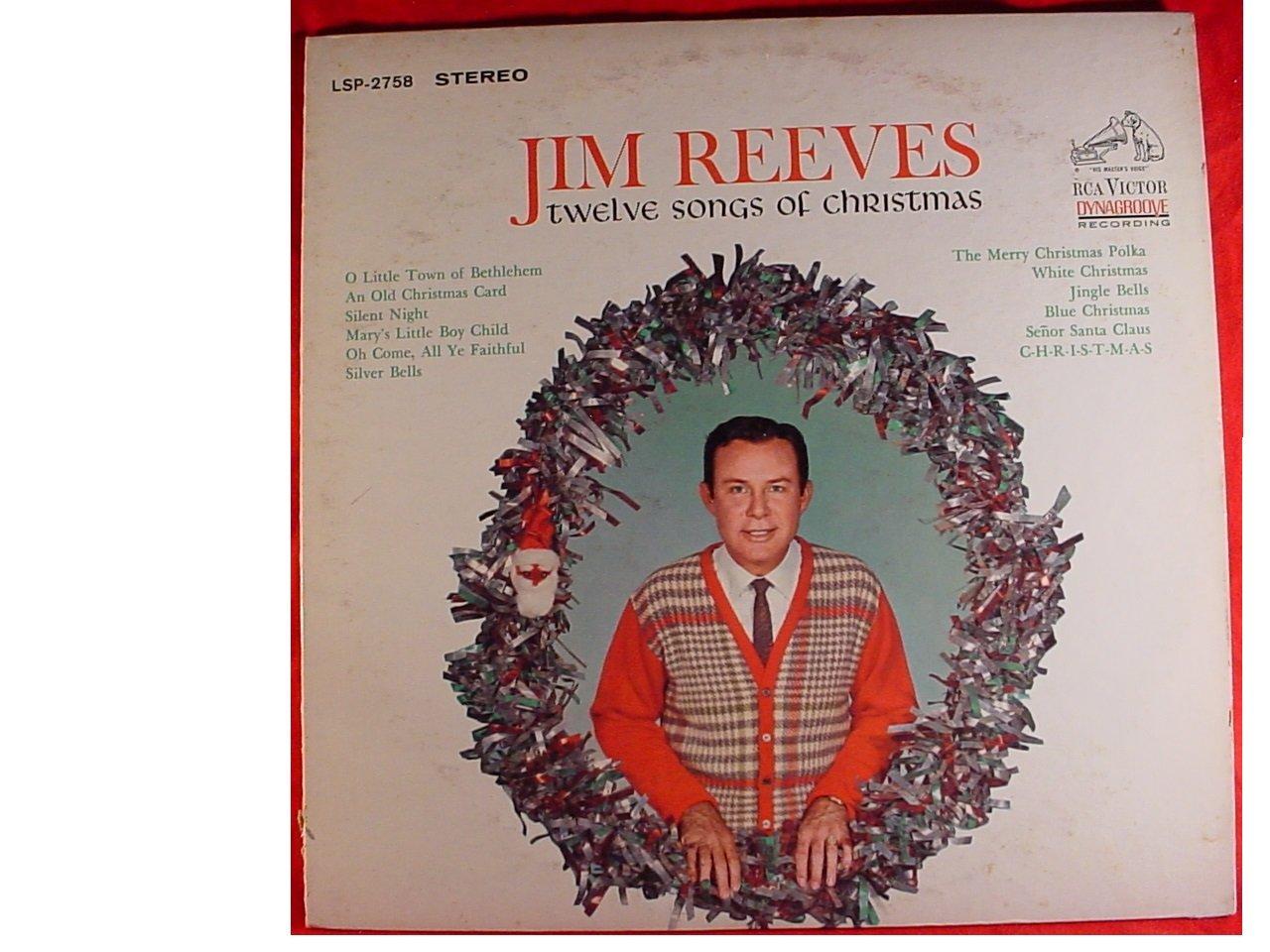 Jim Reeves - JIM REEVES - twelve songs of christmas RCA 2758 (LP ...