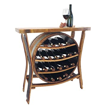 Stave Central Coast Creations 17 Bottle Wine Barrel Wine Rack Wine Barrel Handcrafted Wine Barrel Furniture Amazoncom Central Coast Creations 17 Bottle Wine Barrel Wine Rack Wine