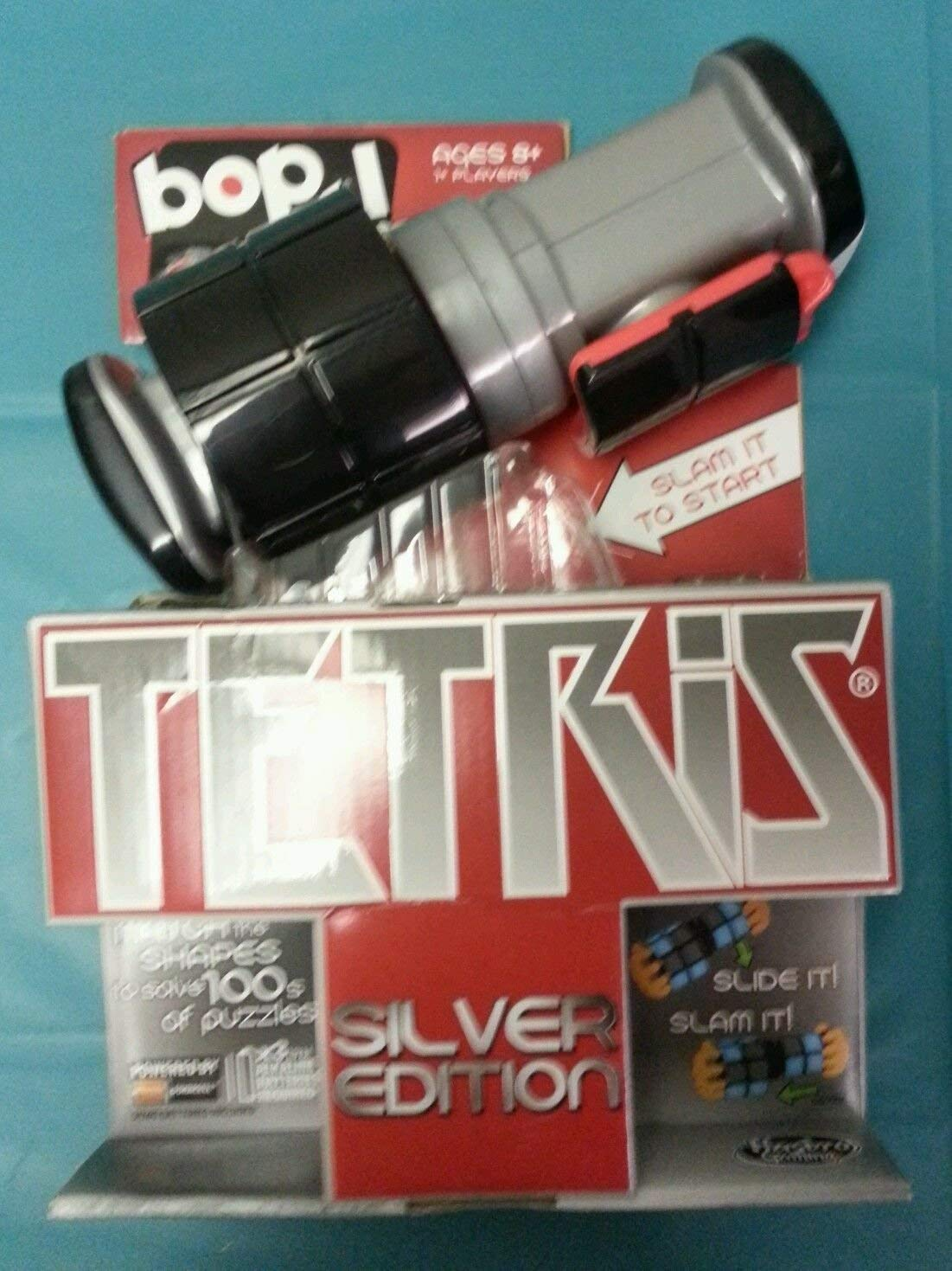 Bop It  Tetris Game  Exclusive Silber Edition by Hasbro