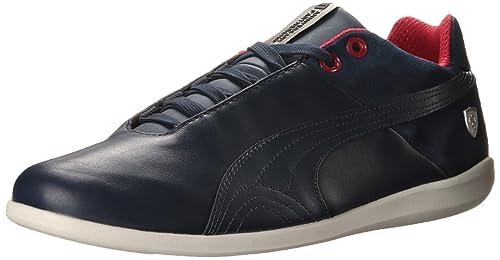 b6e3d7218 Puma Ferrari Future Cat SF Lifestyle 10 Mens Blue Leather Lace Up Sneakers  Shoes 7.5