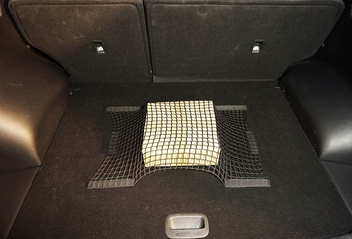 Ferocity Organisateur Filet de Voiture avec Velcro Maille avec du Ruban adh/ésif Auto-adh/ésif 40 x 60 cm 058