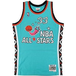 9dc4cdb07 Mitchell   Ness Patrick Ewing NBA 1996 All Star East Men s Teal Green Men  Jersey