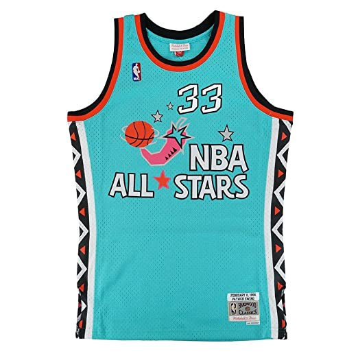 low priced 38c0e 6d336 Amazon.com : Mitchell & Ness Patrick Ewing 1996 NBA All Star ...