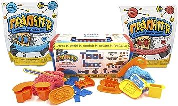 Relevant Play Mad Mattr Quantum Caja de Herramientas: Paquete con 2 Paquetes Extra de 10 oz (30 oz de Mad Mattr Total): Amazon.es: Juguetes y juegos