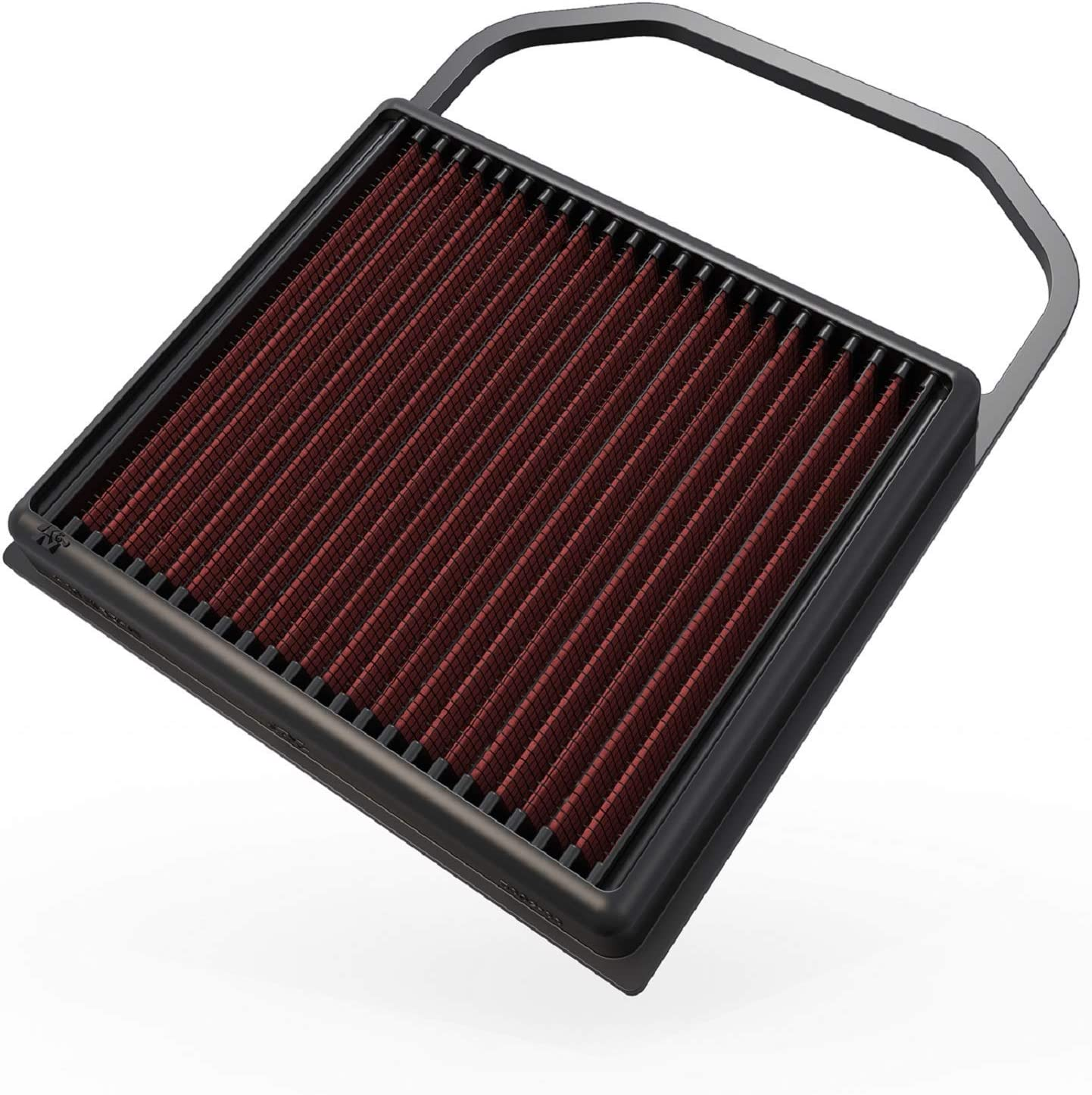 K&N Engine Air Filter: High Performance, Premium, Washable, Replacement Filter: 2014-2019 Mercedes V6 (C400, C43 AMG, C450 AMG, E450, GLC43AMG, GLE400, GLS 400 and other select models), 33-5032