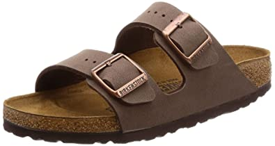 76cadc100 Image Unavailable. Image not available for. Color  Birkenstock Arizona  Birko-Flo Mocca Sandals ...