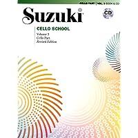 Suzuki Cello School, Vol 3: Cello Part (Book & CD)