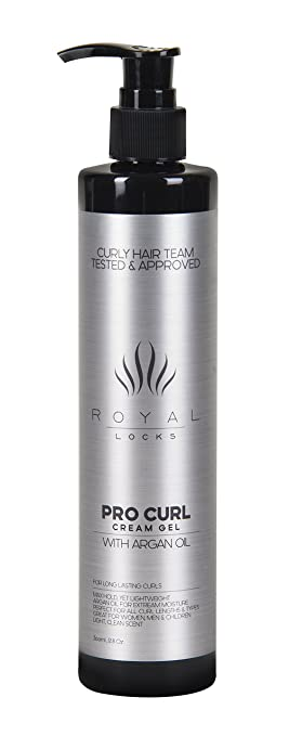 Curl Cream Gel by Royal Locks Review