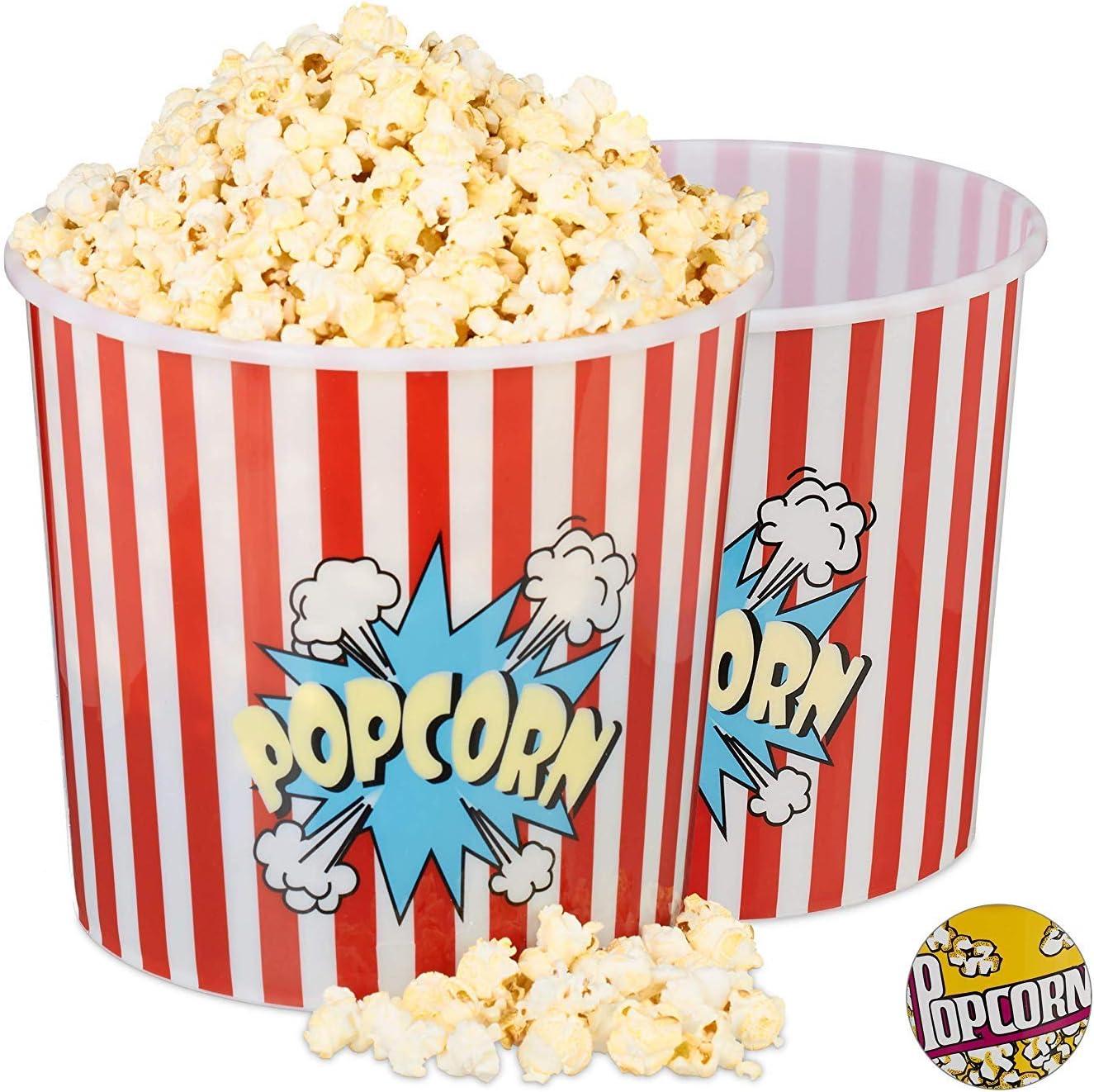 MCM Bol Palomitas Popcorn 6.8 l polypropileno (Plástico Duro) (6.8 ...